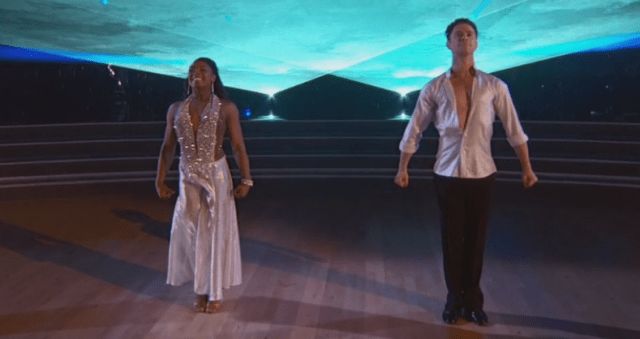 Could this be the first back-to-back gymnast win on Dancing with the Stars?